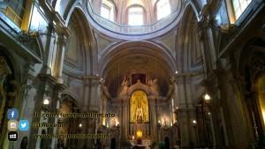 Lisbona - vista interna chiesa