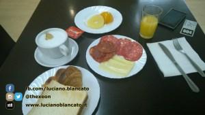 Santiago de Compostela - colazione dei campioni!!!