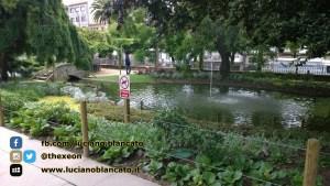 Santiago de Compostela - Parco Alameda - fontane
