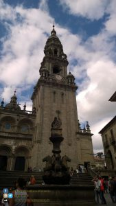 Santiago de Compostela - in giro per la Città, fontana