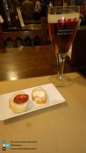 Santiago de Compostela - tapas and beer