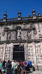 Santiago de Compostela - Chiesa del pellegrino