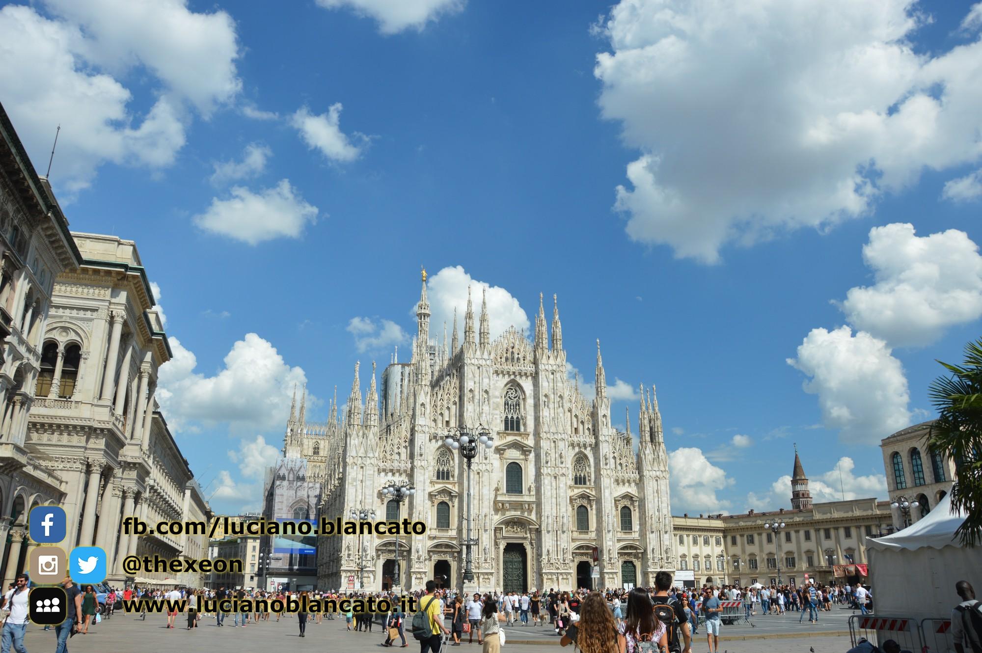 copy_Milano - vista del duomo