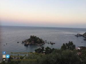 Taormina - vista di isola bella