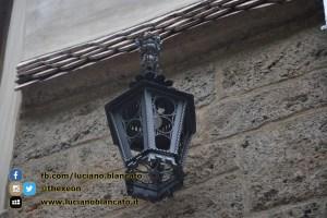 Bucarest - Castello di Bran - Vista del castello - Lanterna