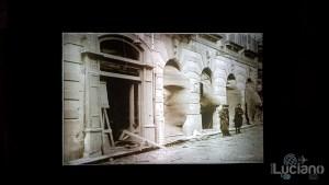 Ipogeo di Piazza Duomo a Siracusa - foto post bombardamento