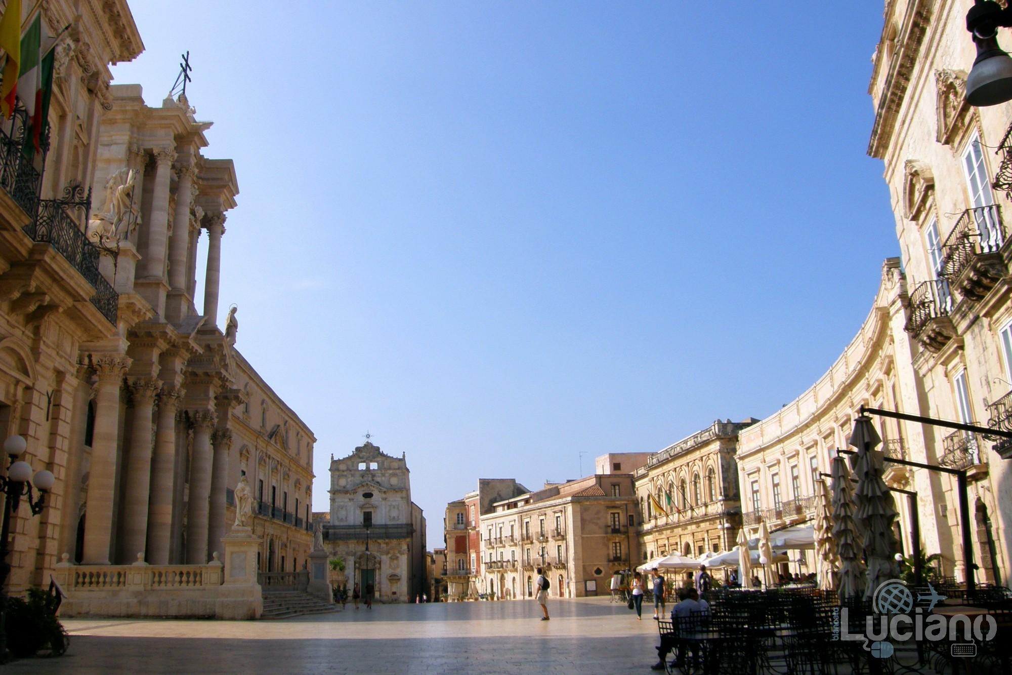 Vista di Piazza Duomo a Ortigia - Siracusa