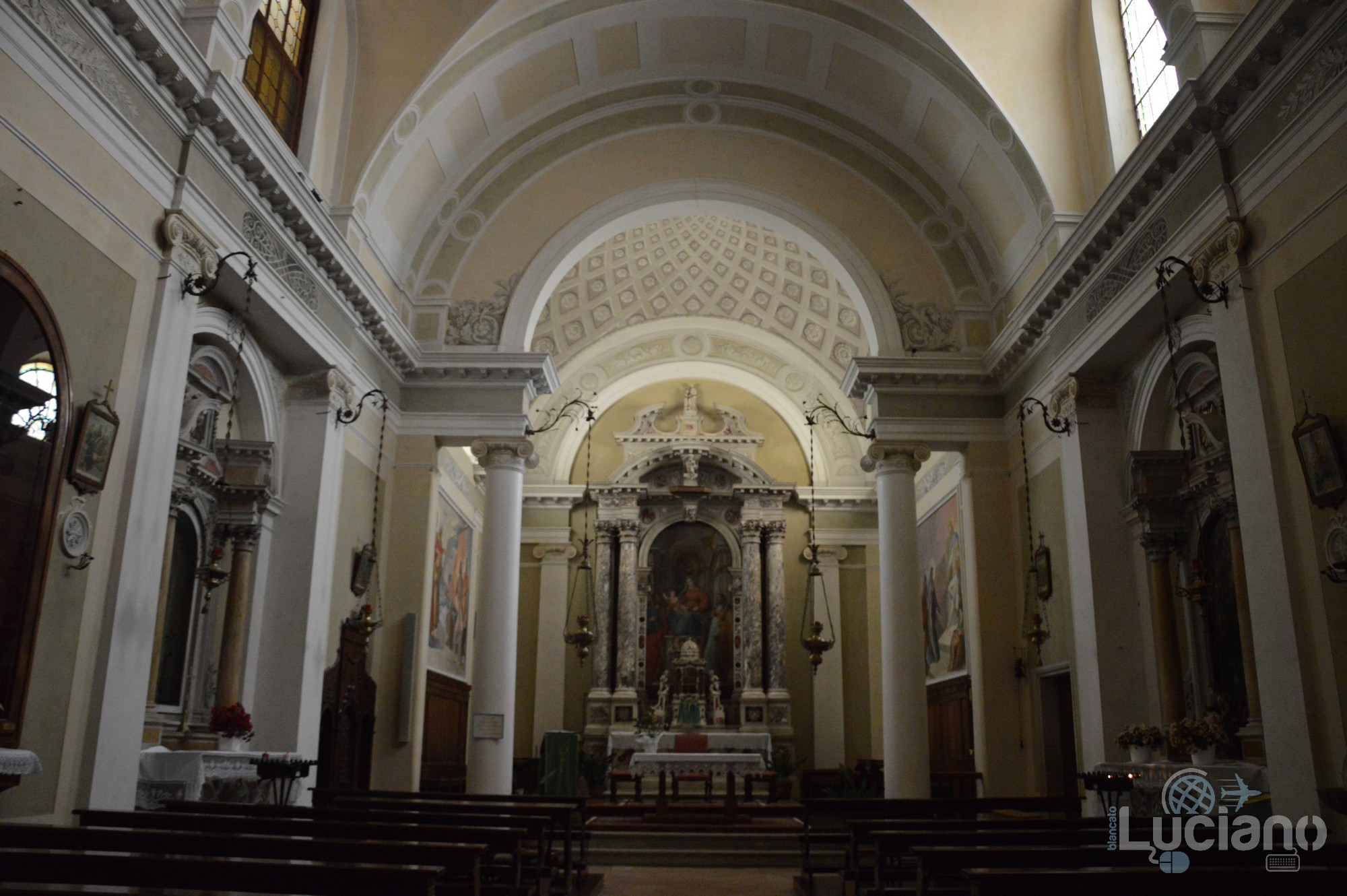In giro per Feltre - chiesa di San Giacomo - Veneto