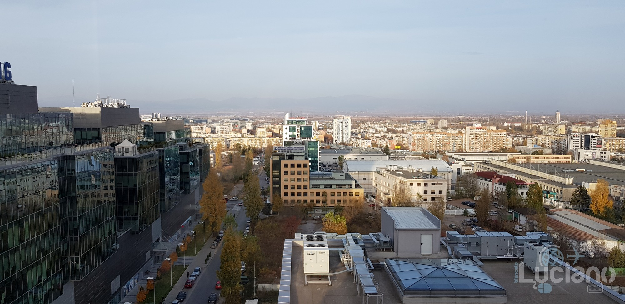 Novotel - SOFIA - Bulgaria - Vista Hotel