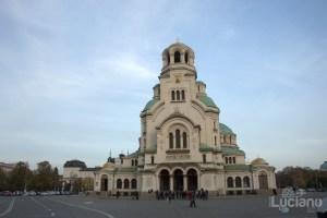 Sofia - Bulgaria - cattedrale di Aleksandr Nevskij (in lingua bulgara Храм-паметник Свети Александър Невски