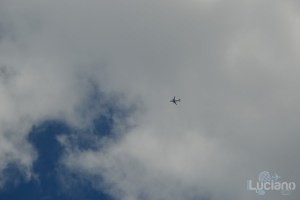 Milano areo in volo - Lombardia - Italia
