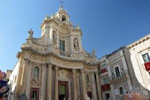 Basilica della Collegiata - Via Etnea durante i festeggiamenti per Sant'Agata 2019 - Catania (CT)