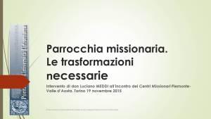 parrocchia missionaria