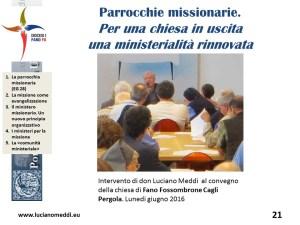 parrocchia missionaria.ministeri