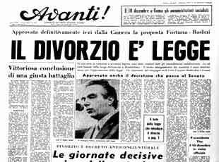 Italia: 45 anni di divorzio. Ora si costruisca il prossimo futuro