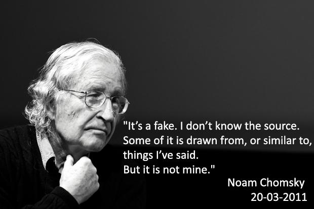 Decalogo Noam Chomsky