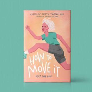 Book cover illustration about how to move it