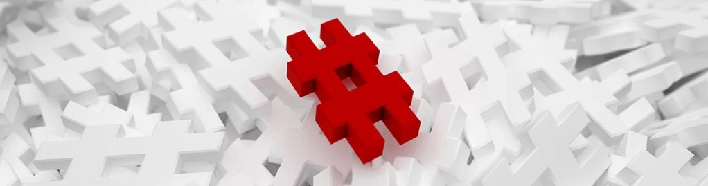 how to use hashtags for business