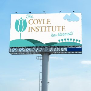 Coyle Institute Billboard Campaign, Lucid Advertising