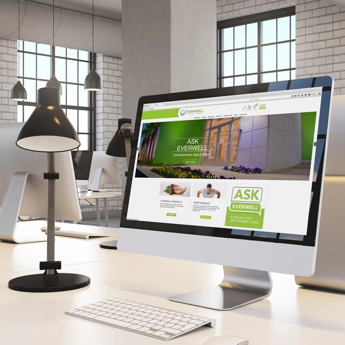 Everwell Website Marketing