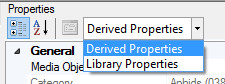 Derived Properties or Library Properties