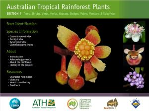 Australian Tropical Rainforest Plants home page