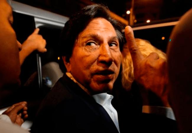 Tribunal peruano formaliza solicitud de extradición de ex presidente Toledo