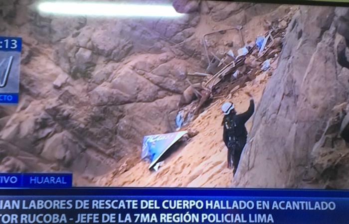 Hallaron el cadáver de la joven Indira Díaz — Tragedia en Pasamayo