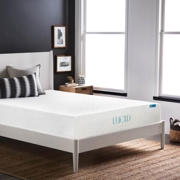 10 Inch Plush Memory Foam Mattress