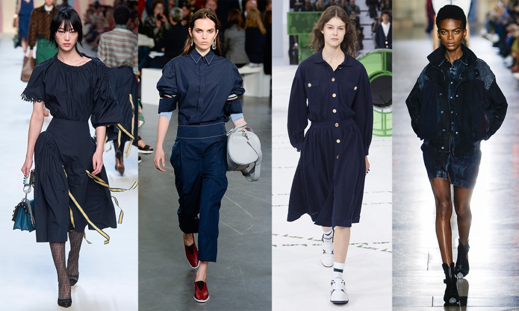 Colorr trends Spring 2018 Sailor Blue