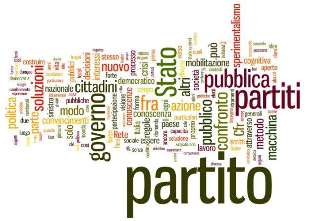 L'analisi delle parole più utilizzate nel manifesto di Fabrizio Barca, clicca per ingrandire
