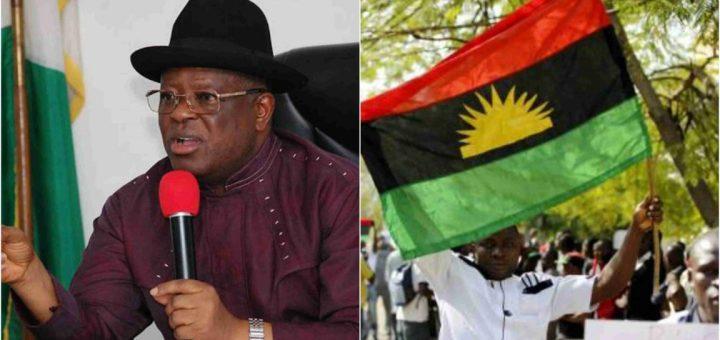 Ebonyi state is not part of Biafra - Gov David Umahi