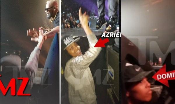 #SurvivingRKelly: R. Kelly's alleged Sex Slaves filmed cheering at his 2016 Concert