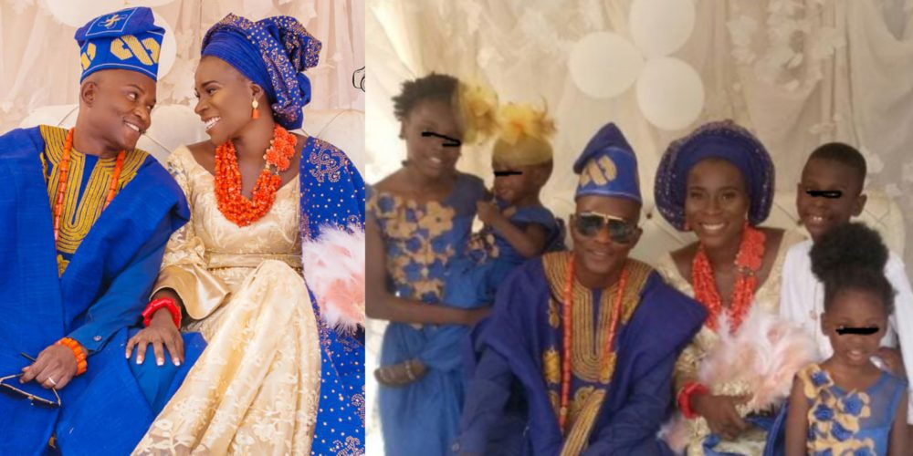 Nigerian Woman expresses her joy of finding Love again from two failed Marriages with four Kids