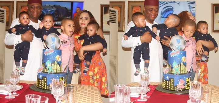 Photos from the birthday party of FFK's first son, Aragorn