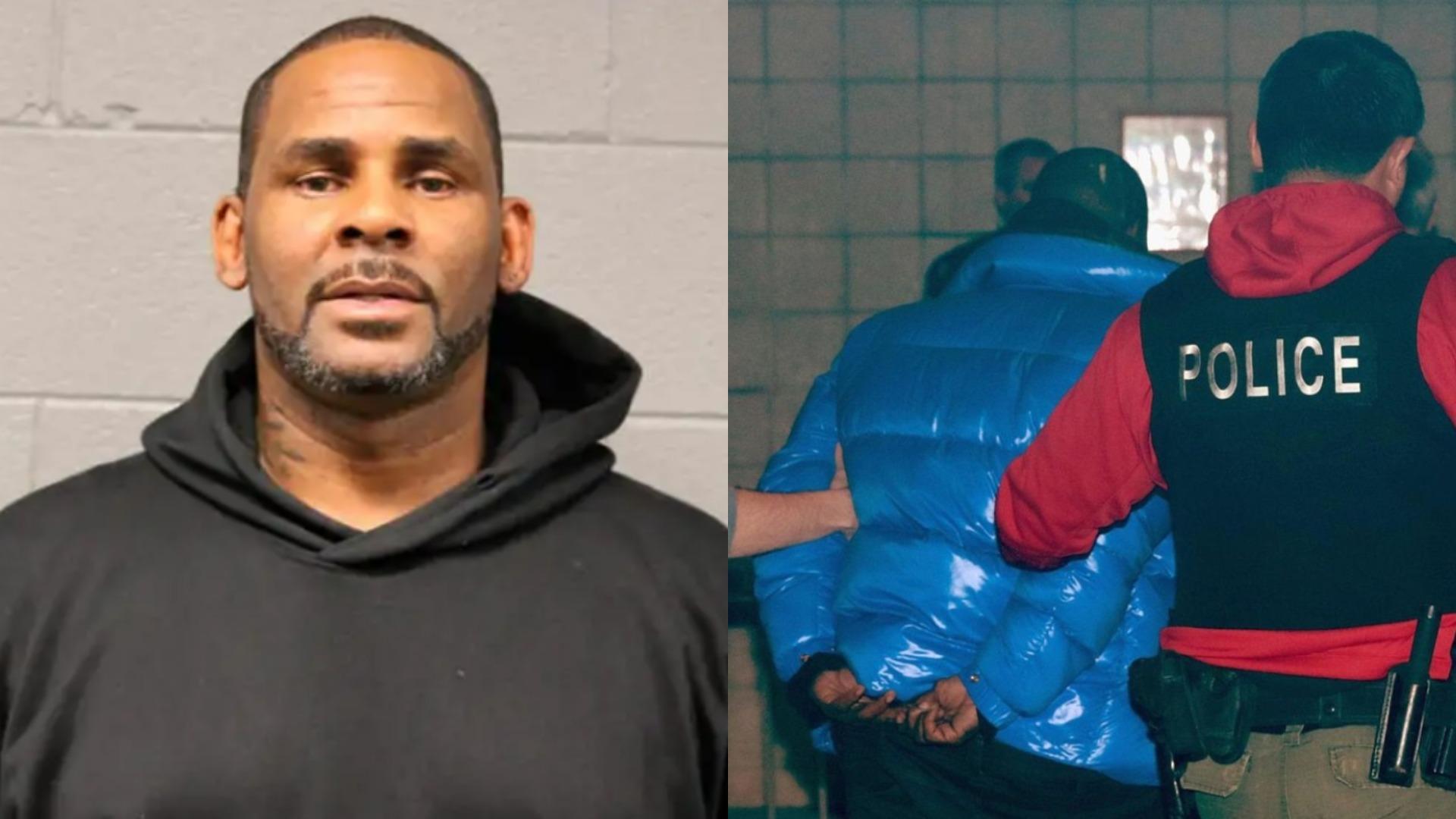R. Kelly mugshot released after arrest