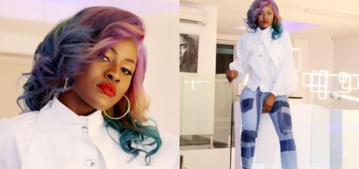 'Don't forget to be the Rainbow in People's Clouds' - BBNaija Star Alex writes as she Stuns in new Photos