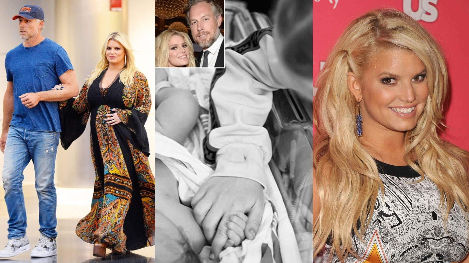 f38c7fa7edf Jessica Simpson and Husband Eric Johnson welcome their third Child ...