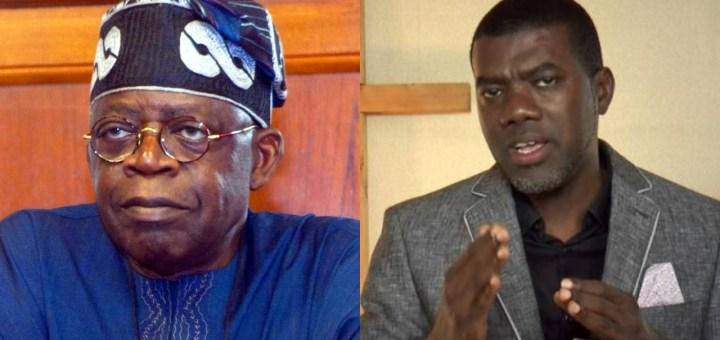 Is Tinubu brave or a coward? - Reno Omokri asks Nigerians