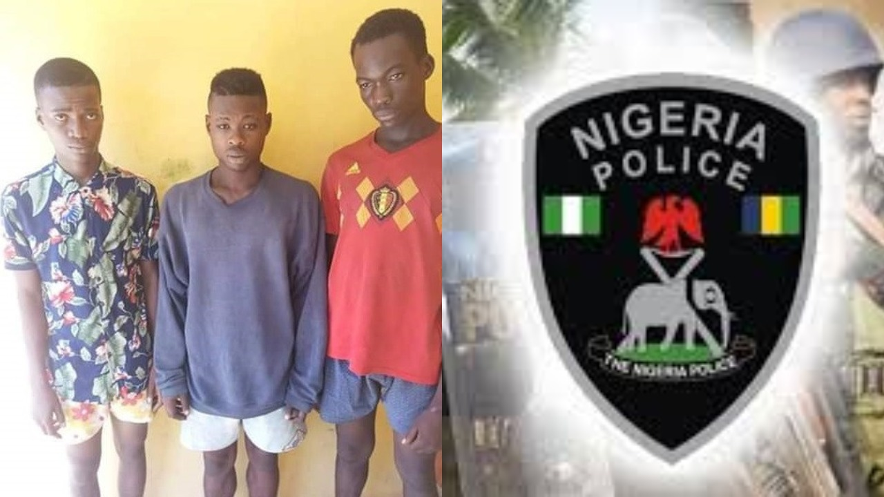 Anambra Police nab three suspected Cultists who abducted, gang-raped