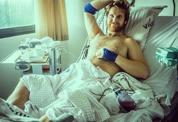 Gay British man in hospital for two weeks with a Painful Erection that won't go away after injecting unprescribed S.ex enhancer into his pen!s