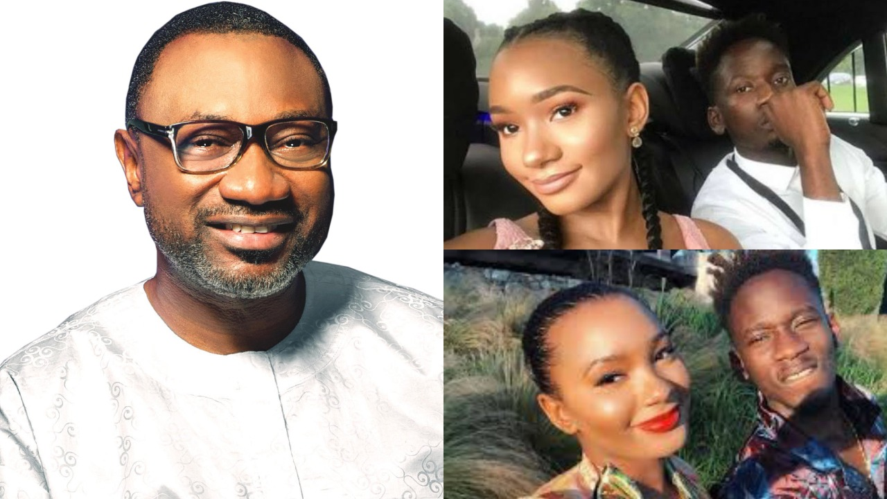Take it easy with my daughter' - Femi Otedola warns Mr Eazi