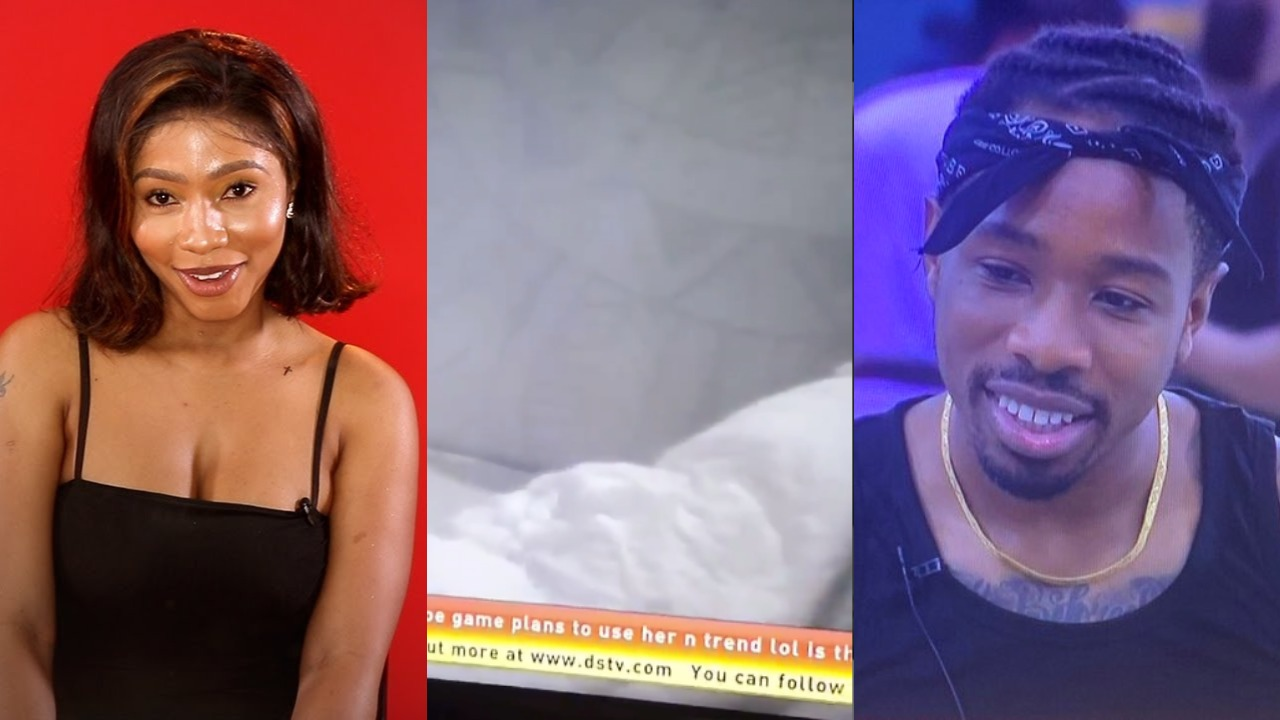 #BBNaija 2019: Mercy & Ike caught having Sex in the House (Video)