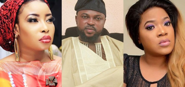 Kolawole Ajeyemi, husband of actress Toyin Abraham reacts to Lizzy Anjorin's defamation of his wife on Social Media