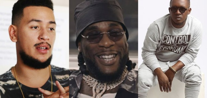 Burna Boy blast AKA for supporting Xenophobic Attack in South Africa; berates MI for Supporting AKA