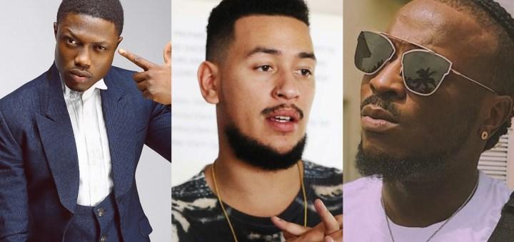 #Xenophobia: Vector educates AKA over his Insensitive Comment as Peruzzi blast the SA Rapper