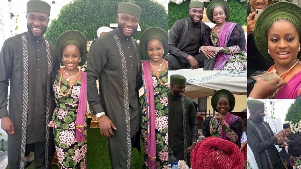 Marriage Introduction Photos of former Mr Nigeria, Emmanuel Ikubese, Social Media Users react