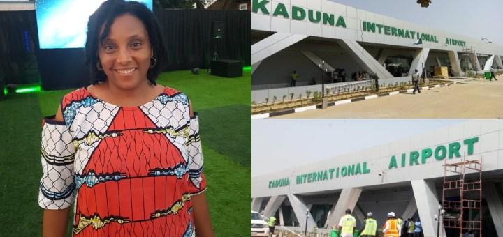 """Kaduna Airport toilets are the Cleanest"" - Nigerian Journalist Kadaria Ahmed says"