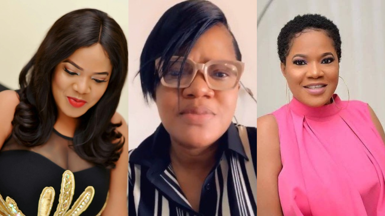 'Stop attacking my colleagues' - Toyin Abraham warns Fans (Video)
