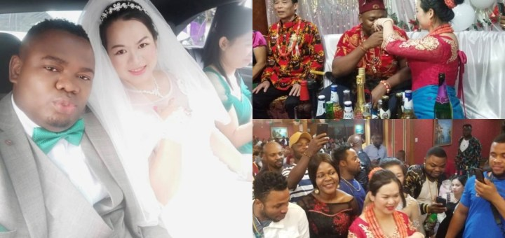 Nigerian man weds his Chinese lover in a Beautiful Ceremony (Photos)